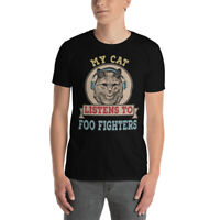 My Cat Listen To Foo Music Fans Fighters Players Shirt
