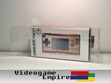 1x Schutzhülle 0,4mm PET Game Boy Micro NTSC-J JAPAN OVP Box Protector / Hülle