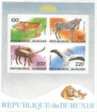 1992   BURUNDI  -  SG  MS  1516  -  ANIMALS  -  UMM