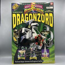 ? Vintage MMPR Mighty Morphin Power Rangers Dragonzord Green Ranger Box