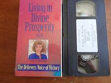 Living in Divine Prosperity Part II Gloria Copeland  VHS Tape