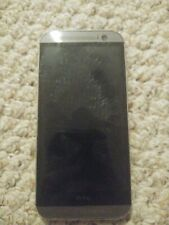 HTC One M8 - 32GB - Metal Gray (tested) (T-Mobile) unlocked read description