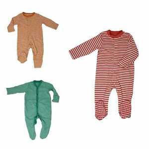 Ex Mothercare Babygrow Tiny Newborn up to 24-36 unisex stripe patterned NEW