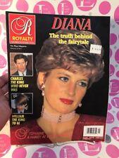 Royalty Magazine 1993 VOL 12 NO 1 PRINCESS DIANA/PRINCE CHARLES/WILLIAM~N.MINT
