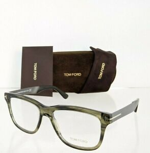 Brand New Authentic Tom Ford TF 5372 Eyeglasses 098 FT 5372 54mm Olive Green