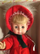 Effanbee Hattie Doll CHRISTMAS Decoration 1978 VINYL DOLL Vintage
