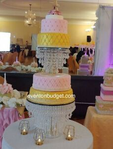 Cake Stand | Chandelier Cake Stand | Crystal Cake stand For Wedding