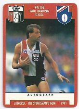 "1991 Stimorol (94) Paul HARDING St. Kilda "" """