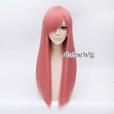 Fashion 21 Colors 70CM Long Straight Costume Cosplay Party Wig Halloween Gift