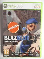 jeu BLAZBLUE Calamity Trigger sur xbox 360 en francais spiel game juego combat