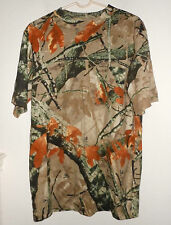 OUTFITTERS RIDGE fusion 3-D medium camouflage camo hunting T shirt 38/40 hunter