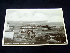 OLD PPC: NEWHAVEN HARBOUR AND SEAFORD HEAD~ca 1954