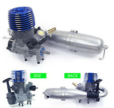 Kyosho Inferno MP 9 MP9 2.8 Blue Head Engine+Pipe New