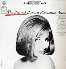 Barbra Streisand Vinyl LP Columbia Records 1963,Stereo 360 Sound,Second Album~VG