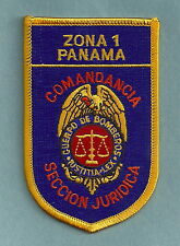 PANAMA ZONA 1 BOMBERS FIRE DEPARTMENT PATCH
