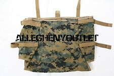 Qty 2 USMC MarPat RADIO UTILITY POUCH Gen 2 Tan for ILBE Mainpack NEW
