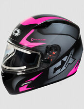 Castle X Mugello Squad Electric Shield Snow Helmet Matte Pink