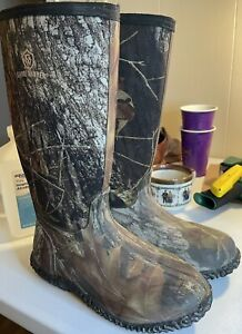 Game Winner Women's Camouflage Rubber Boots Size 8