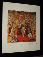 "THE ROLLING STONES - P/SIGNED LITHOGRAPH - ""IT'S ONLY ROCK AND ROLL - MINT"