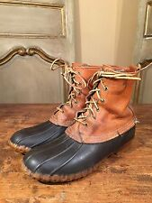 VINTAGE L.L BEAN MAINE HUNTING BOOTS MENS SIZE 8 NARROW