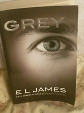 GREY by E.L. James as told by Christian - Softcover Book 2015 V. Good BESTSELLER