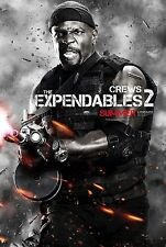 THE EXPENDABLES 2 - Movie Poster - Flyer - 13.5x20 - TERRY CREWS