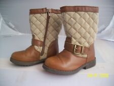 OSHKOSH B'GOSH Size 6 girls brown boots, hardly worn. FAST POSTAGE