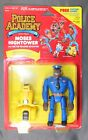 1989 Kenner Police Academy MOSES HIGHTOWER Complete Action Figure Carded
