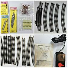 Lots of HO Train Parts Track Signals Transformer and more