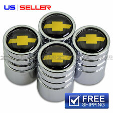 VALVE STEM CAPS WHEEL TIRE CHROME FOR CHEVY CHEVROLET VE08 - US SELLER