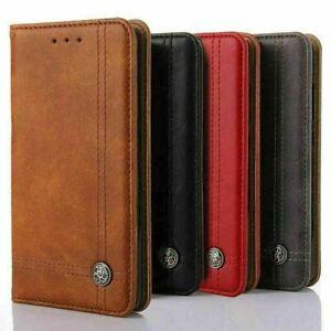 Genuine Luxury Leather Case Cover for Samsung Galaxy A10 A20E  A50  Core