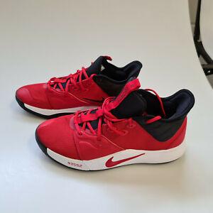 Nike Sneaker Basketball PG3 University Red Herren Gr. 45.5