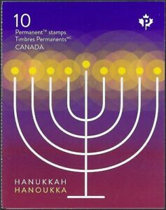 2019  Canada    VF-NH  HAPPY HANUKKAH   Brand New 2019 Booklet Issue