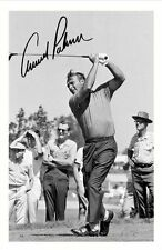 ARNOLD PALMER AUTOGRAPHED SIGNED A4 PP POSTER PHOTO