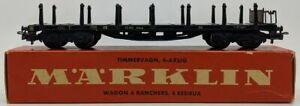 Marklin 4516 HO Scale Stake Car LN/Box