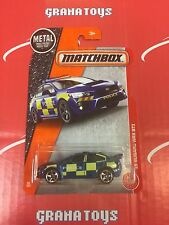 15 Subaru WRX Sti #60 Police 2017 Matchbox Case G