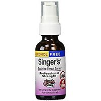 Alcohol Free Singer's Saving Grace Professional Strength Herbs Etc 1 oz Liquid