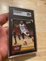 Lebron James SGC 10 GEM 💎 MINT Panini Prestige #148 Collector Card INVEST 2016