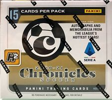 2020-21 CHRONICLES SOCCER H2 SERIE A MINI BOX FACTORY SEALED