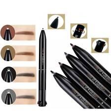 4 in 1 Eye Brow Pen Waterproof Black Brown Eyebrow Pencil Cosmetics Lasting