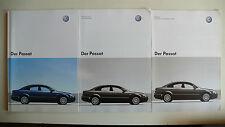 Prospekt Volkswagen VW Passat, 5.2003, 52 Seiten +Daten/Ausstattungen+Preisliste