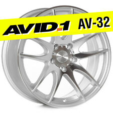 AVID.1 AV-32 17x8 Machined 5x114.3 +35 Wheel Emotion CR fits Civic Accord JDM