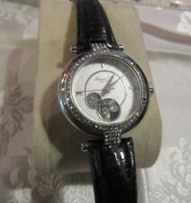 Beautiful Kenneth Cole Watch Clear Back front Part Skeleton Crystal Bezel F65