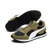 Puma VISTA Unisex Sneaker Turnschuhe Mesh Retro 369365 Burnt Olivine