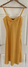 Ladies Size 12 Vero Moda Yellow Dress