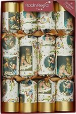 Robin Reed H0 Christmas Holiday 8pc 12in Themed Crackers - Nativity 61702