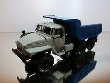 USSR ELECON URAL 55571 DUMP TRUCK TIPPER - GREY BLUE 1:43 - VERY GOOD CONDITION