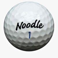 25 TaylorMade Noodle Golfbälle im Netzbeutel AA/AAAA Lakeballs used golf balls