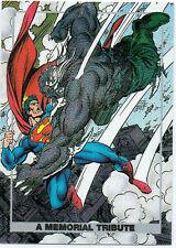 SUPERMAN: THE DEATH OF DOOMSDAY FOIL CARD S1