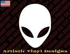 Alien Head ET UFO vinyl decal sticker for car laptop etc many colors and sizes